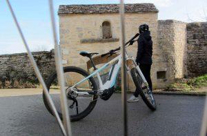 balade à vélo dans la vallée de l'ozerain
