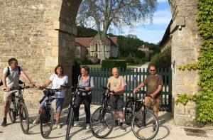 Balade à vélo, châteaux, Commarin, Château-neuf-en-Auxois