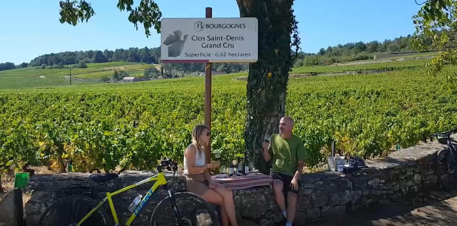 vélo et vin en Bourgogne